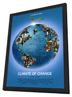 Climate Change - 11 x 17 Movie Poster - Style A - in Deluxe Wood Frame