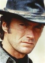 Clint Eastwood - Clint Eastwood Close Up Portrait with Hat