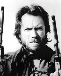 Clint Eastwood - 8 x 10 B&W Photo #1