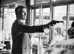 Clint Eastwood - Clint Eastwood Pointing Pistol in Tuxedo