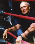 Clint Eastwood - Clint Eastwood Leaning on Boxing Ropes Portrait