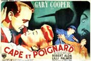 Cloak and Dagger - 11 x 17 Movie Poster - French Style A