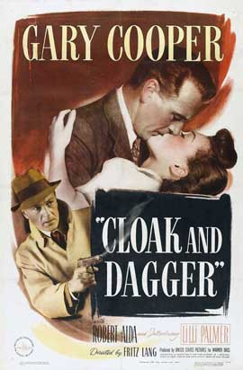 Cloak and Dagger - 27 x 40 Movie Poster - Style A