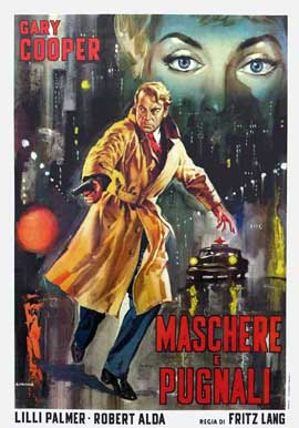 Cloak and Dagger - 11 x 17 Movie Poster - Italian Style A