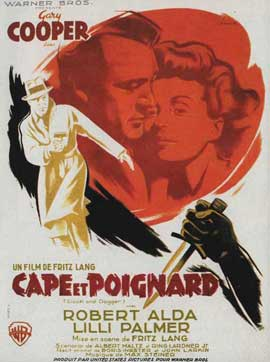 Cloak and Dagger - 11 x 17 Movie Poster - French Style B