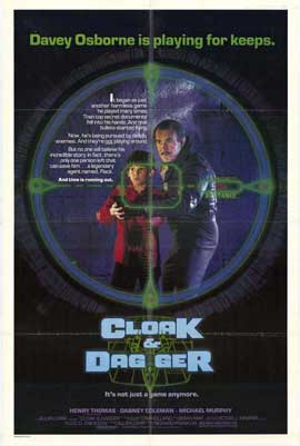 Cloak & Dagger - 27 x 40 Movie Poster - Style A
