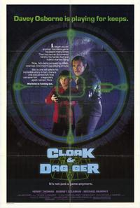 Cloak & Dagger - 43 x 62 Movie Poster - Bus Shelter Style A