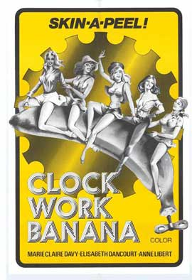 Clock Work Banana - 11 x 17 Movie Poster - Style A