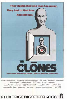 The Clones - 27 x 40 Movie Poster - Style A