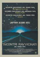Close Encounters of the Third Kind - 27 x 40 Movie Poster - Italian Style A