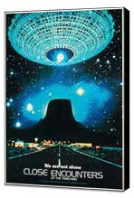 Close Encounters of the Third Kind - 11 x 17 Movie Poster - Style O - Museum Wrapped Canvas