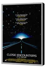 Close Encounters of the Third Kind - 27 x 40 Movie Poster - Style B - Museum Wrapped Canvas
