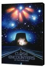 Close Encounters of the Third Kind - 27 x 40 Movie Poster - Style E - Museum Wrapped Canvas