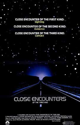 Close Encounters of the Third Kind - 11 x 17 Movie Poster - Style B