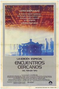Close Encounters of the Third Kind - 11 x 17 Movie Poster - Spanish Style A