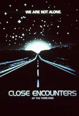 Close Encounters of the Third Kind - 11 x 17 Movie Poster - Style E