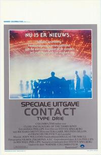Close Encounters of the Third Kind - 11 x 17 Movie Poster - Belgian Style A