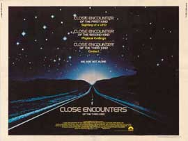 Close Encounters of the Third Kind - 11 x 17 Movie Poster - Style F