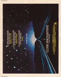 Close Encounters of the Third Kind - 22 x 28 Movie Poster - Half Sheet Style A
