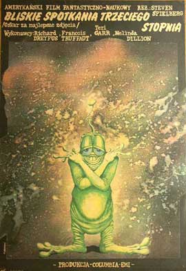 Close Encounters of the Third Kind - 11 x 17 Movie Poster - Polish Style A