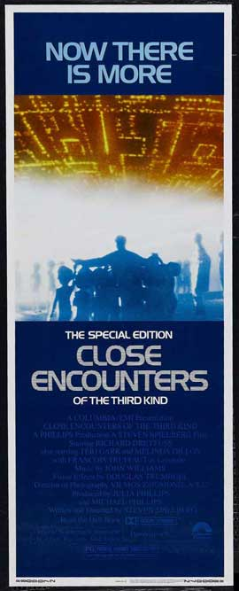 Close Encounters of the Third Kind - 14 x 36 Movie Poster - Insert Style A