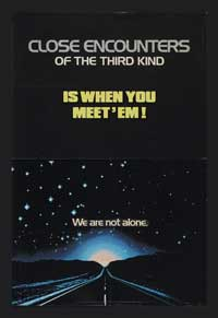 Close Encounters of the Third Kind - 11 x 17 Movie Poster - Style K