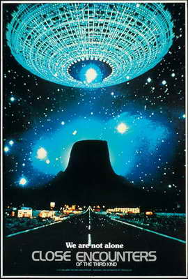 Close Encounters of the Third Kind - 27 x 40 Movie Poster - Style H