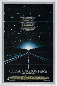 Close Encounters of the Third Kind - 11 x 17 Movie Poster - Style P