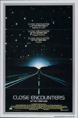 Close Encounters of the Third Kind - 27 x 40 Movie Poster - Style P