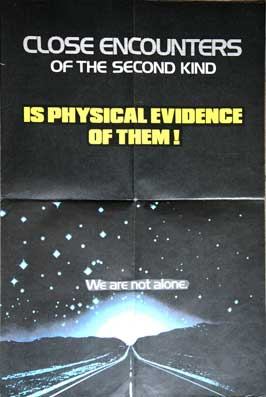 Close Encounters of the Third Kind - 27 x 40 Movie Poster - UK Style A