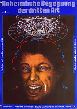 Close Encounters of the Third Kind - 11 x 17 Movie Poster - German Style A