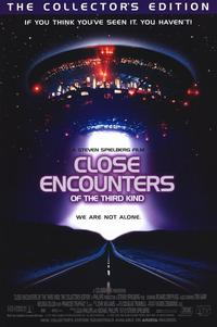 Close Encounters of the Third Kind - 11 x 17 Movie Poster - Style C - Museum Wrapped Canvas