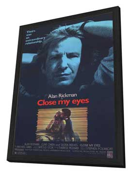 Close My Eyes - 11 x 17 Movie Poster - Style B - in Deluxe Wood Frame