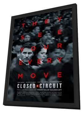 Closed Circuit - 27 x 40 Movie Poster - Style A - in Deluxe Wood Frame