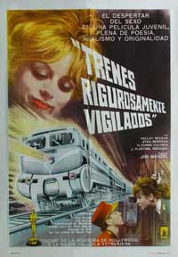 Closely Watched Trains - 11 x 17 Movie Poster - Spanish Style A