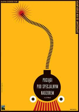 Closely Watched Trains - 11 x 17 Movie Poster - Polish Style A