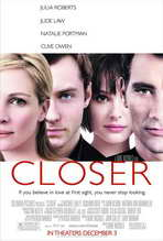 Closer - 27 x 40 Movie Poster - Style B