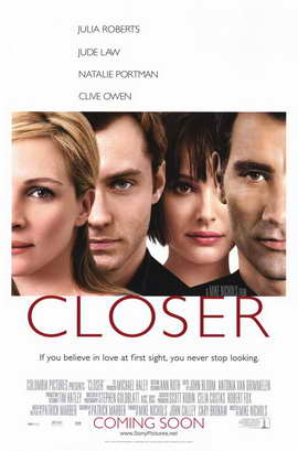 Closer - 11 x 17 Movie Poster - Style A