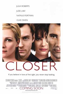 Closer - 27 x 40 Movie Poster - Style A