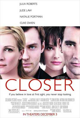 Closer - 11 x 17 Movie Poster - Style C