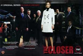 The Closer (TV) - 11 x 17 TV Poster - Style E