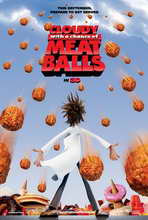 Cloudy with a Chance of Meatballs - 27 x 40 Movie Poster - Style A