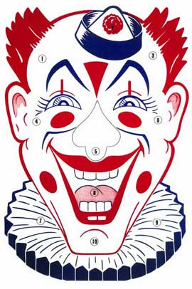 Clown Face - 11 x 17 Movie Poster - Style A
