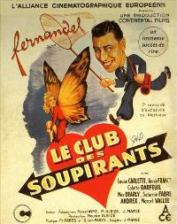 Club des soupirants, Le - 27 x 40 Movie Poster - French Style A