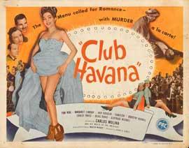 Club Havana - 27 x 40 Movie Poster - Style A