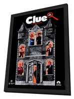 Clue - 27 x 40 Movie Poster - Style C - in Deluxe Wood Frame