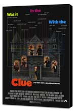 Clue - 11 x 17 Movie Poster - Style A - Museum Wrapped Canvas