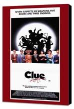 Clue - 11 x 17 Movie Poster - Style B - Museum Wrapped Canvas