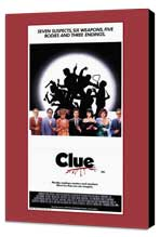 Clue - 27 x 40 Movie Poster - Style B - Museum Wrapped Canvas