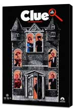 Clue - 27 x 40 Movie Poster - Style C - Museum Wrapped Canvas